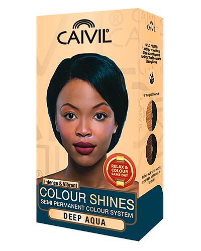 caivil hair colour - deep aqua