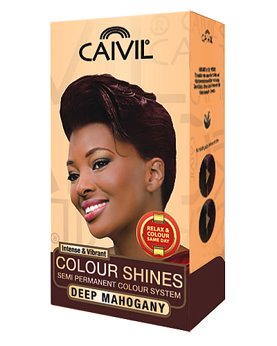 caivil hair colour - deep mahogany