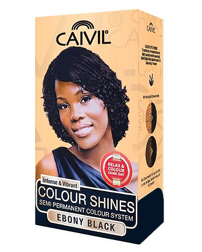 caivil hair colour - ebony black