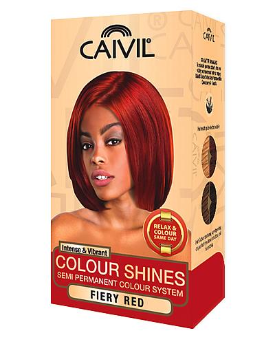 caivil hair colour - fiery red