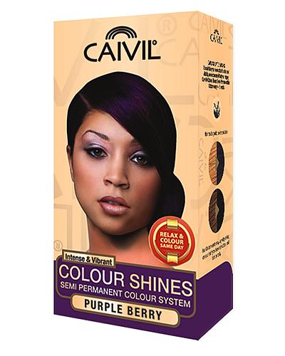 caivil hair colour - purple berry