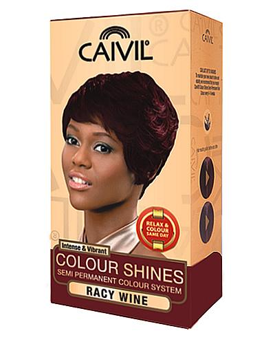 caivil hair colour - racy wine
