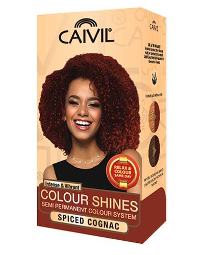 caivil hair colour - spiced cognac