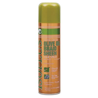 isoplus_olive_oil_braid_sheen_hair_spray