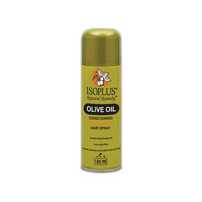 isoplus_olive_oil_conditioning_oil_sheen_hair_spray